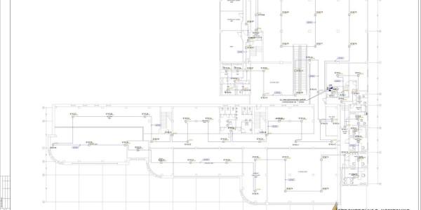 4  Автоматическая пожарная сигнализация план дымовых датчиков 2 этажа-s